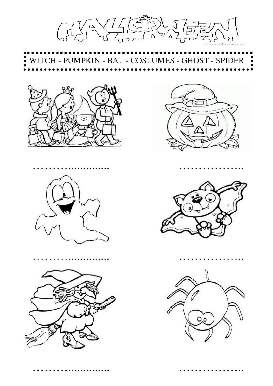 English For Children Halloween Infantil Y Primaria