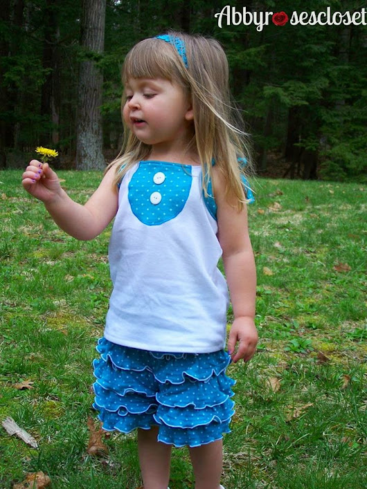Pattern Release! The Perfect Cartwheel Ruffle Shorts