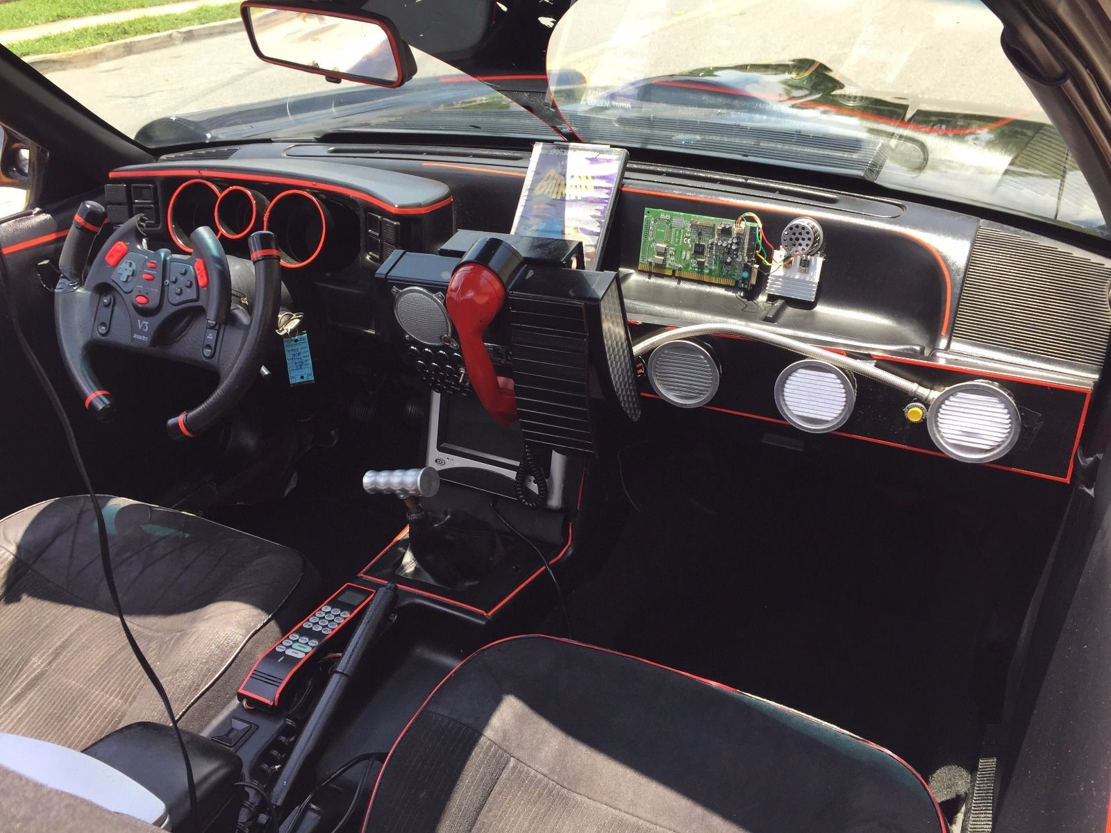 Find this 1987 ford mustang batmobile here on ebay bidding for 5 000 with 12 000 buy it now located in west palm beach fl