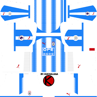 Huddersfield Kits 2017 - Dream League Soccer
