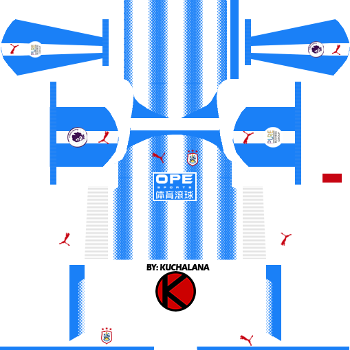 Huddersfield Kits 2017/18 - Dream League Soccer