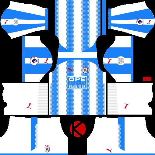Huddersfield Kits 2017/18 - Dream League Soccer