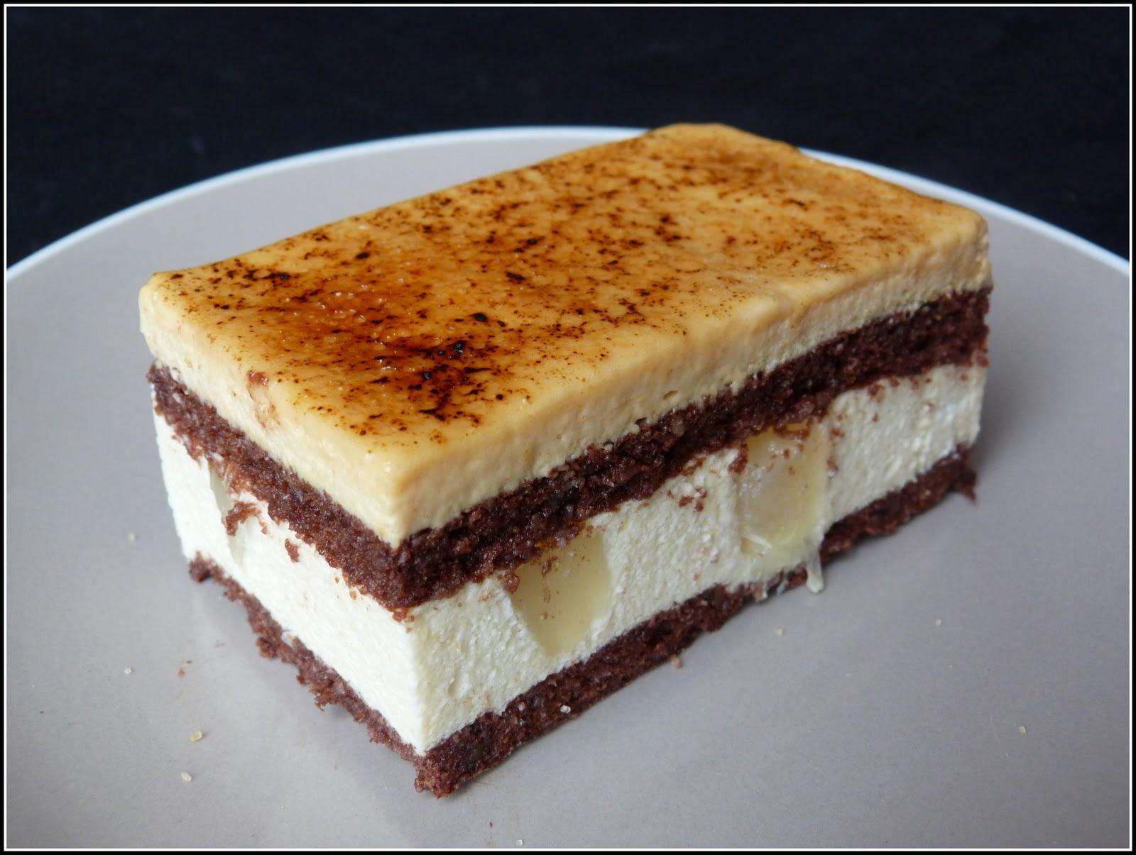 Cake Poire Amande Chocolat