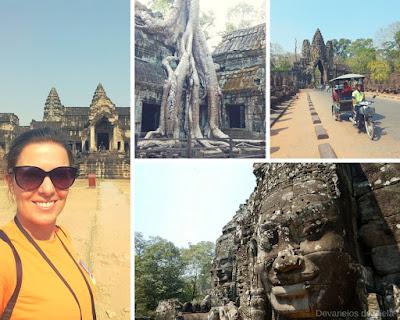 Fotos templos Camboja 2017