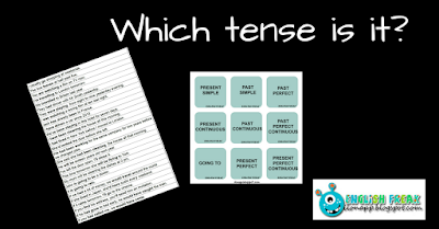 Which tense is it?