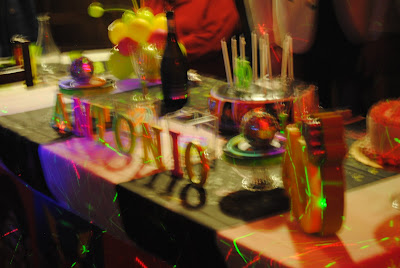 una festa per i 40 anni ambientata negli anni '80