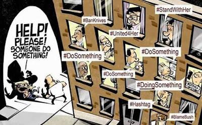 Zaman Teknologi minta tolong dengan #hashtag, ya perkara yang berlaku didepan mata pun siap sempat nak hashtag je.