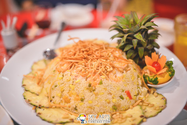 海宝黄金炒饭 Fried Rice with Seafood and Salted Egg