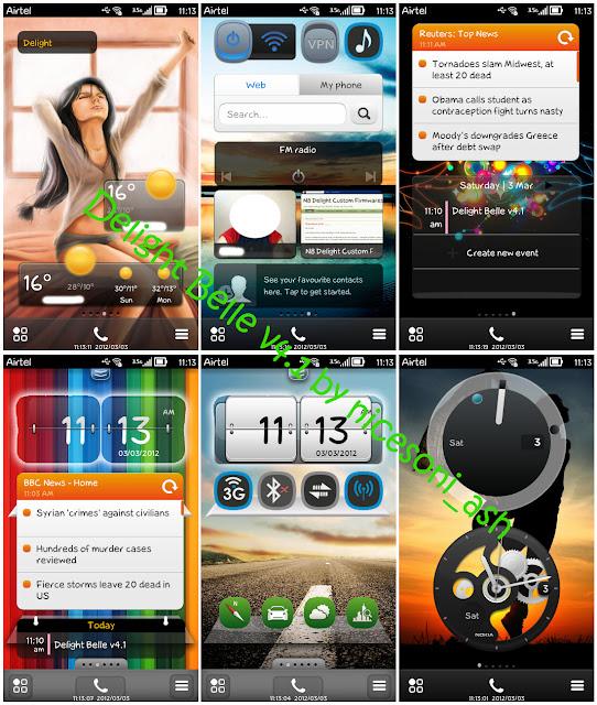 Custom Firmware: RM- 596 Nokia N8- Delight Belle
