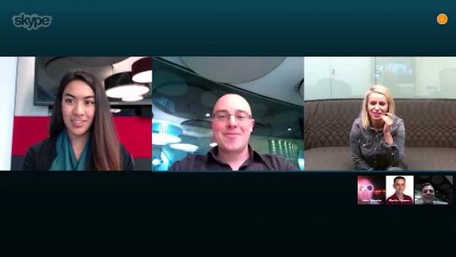 skype hadirkan fitur group video