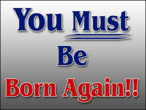 Born again believer