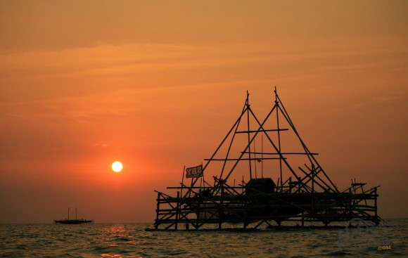 Bagan Kayu Nelayan Sibolga