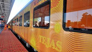 2nd Premium Ahmedabad-Mumbai Tejas Train