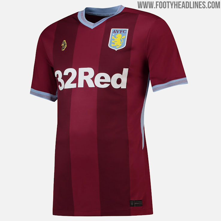 No More Under Armour Luke 1977 Aston Villa 18 19 Home Away Kits Released Footy Headlines