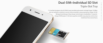 dual sim card nano oppo f1s