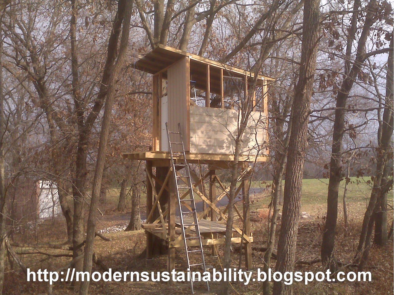 Modern Sustainability Old Fashioned Methods Tree House