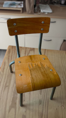 chaise maternelle bois