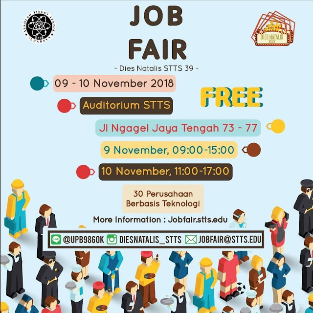 Job Fair Dies Natalis STTS 39 (Surabaya) Gratis