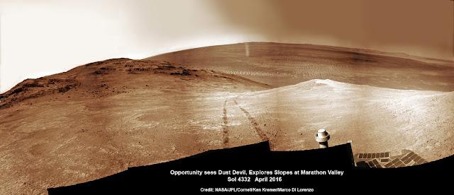 Redemoinho em Marte - Opportunity - NASA
