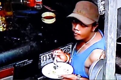 Sebelum Nyolong, Pencuri Ini Sempat Makan dan Cuci Piring. Begonya, Malah Pamer Muka ke CCTV!