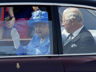 The Queen of England, Elizabeth reported to the Police for not wearing a seatbelt