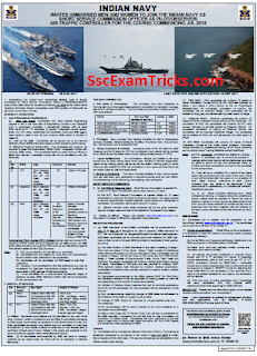 Indian Navy Pilot/ Observer/ Air Traffic Controller Recruitment 2017