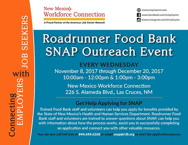 Bread New Mexico Blog A Food Bank SNAP Outreach How Food Stamps