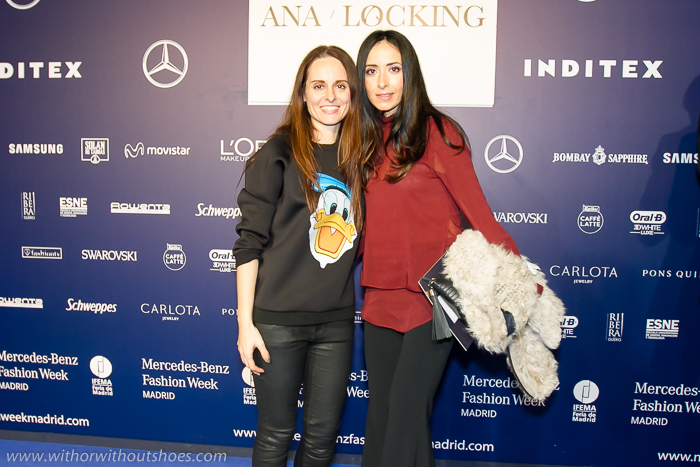 Kissing Room fashion week Madrid diseñadora española Ana Locking y blogger de moda de Valencia