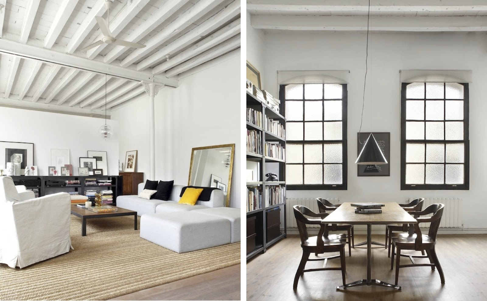 Awesome Black And White Lofts, Simplistic Yet Modern | Home And
