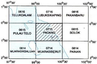 Indeks Peta Geologi Lembar Padang