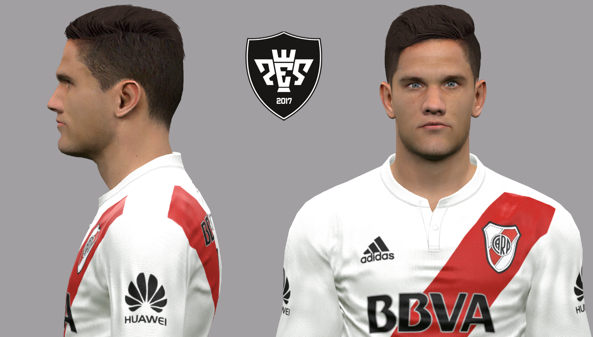 PES 2017 Bruno Zuculini Face by LF Facemaker