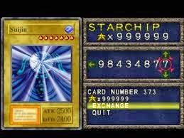 Code Card Yu Gi Oh Forbidden Memories PSX