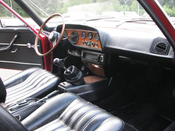 Front Interior Fiat Sport Coupe