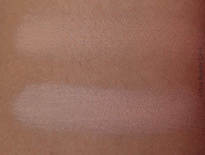 Different type of affordable peach color correctors in India swatches
