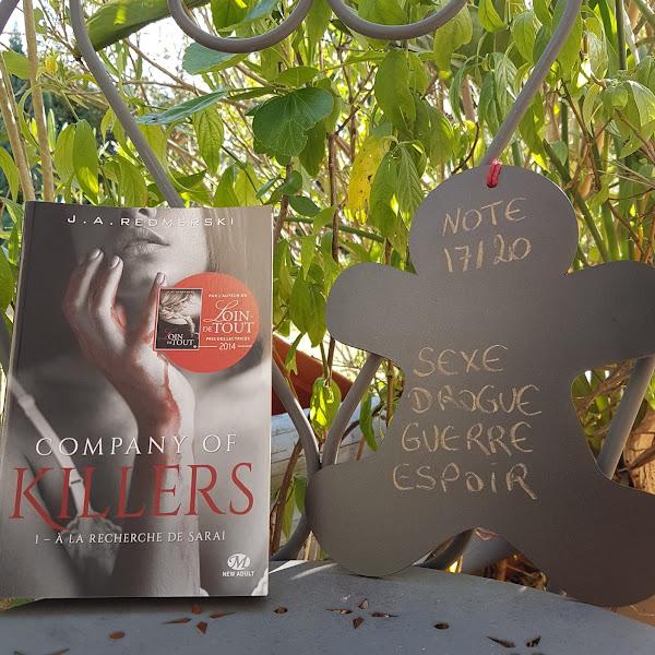 Company of Killers, tome 1 : A la recherche de Sarai de J. A. Redmerski