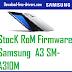 StocK RoM Firmware Samsung  A3 SM-A310M