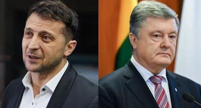 Зеленский и Порошенко озвучили свои планы в случае избрания президентом