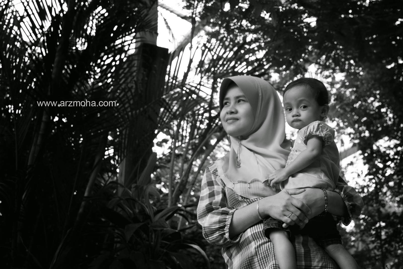 mother, daughter, kids, ulangtahun, taman rama-rama