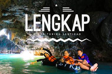 aktivitas wisata river tubing green santirah