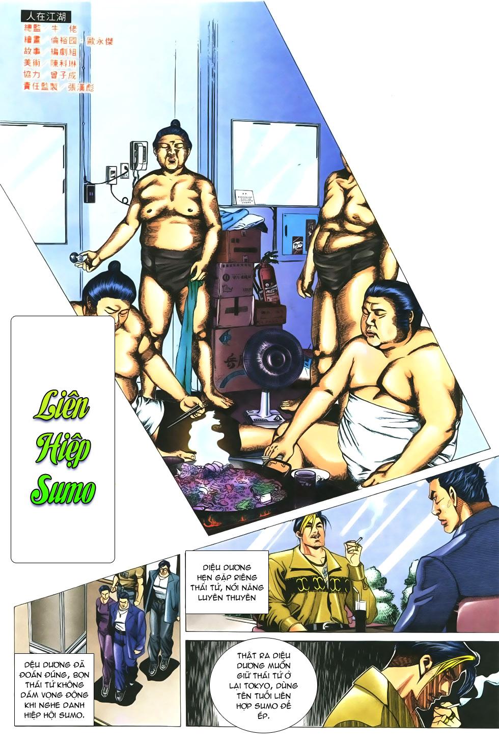 Người Trong Giang Hồ chapter 299 trang 2