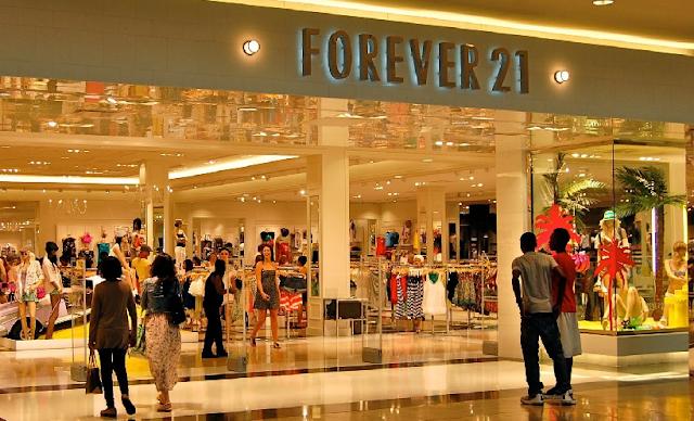 Onde encontrar lojas Forever 21 em Miami