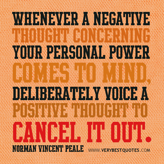 Have Positive Thoughts Quotes: Miss Reviews