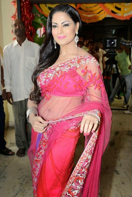 veena-malik-in-sari-pink