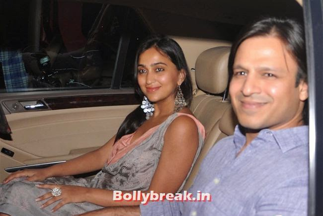 Priyanka and Vivek Oberoi, Bollywood Celebs at Kangana Ranaut Birthday Bash Pics