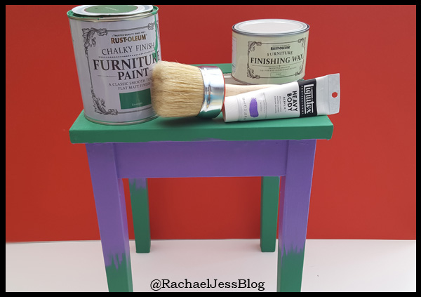 Paints used to create Hulk Table