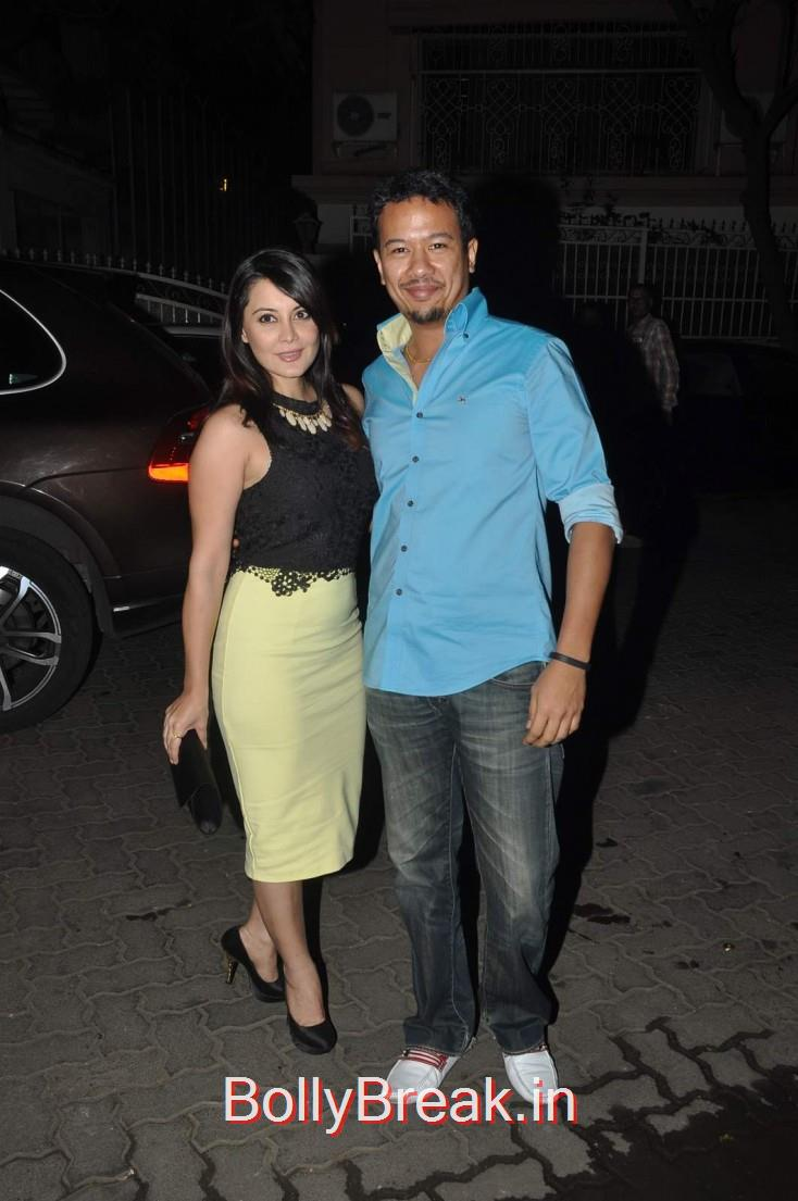 Minissha Lamba and Ryan Tham, Celebs  at Karim Morani's Birthday Bash