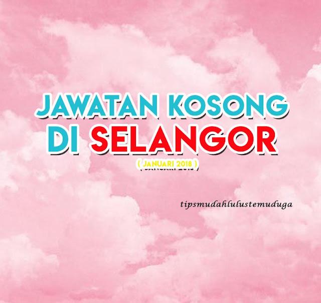 Jawatan Kosong di Selangor