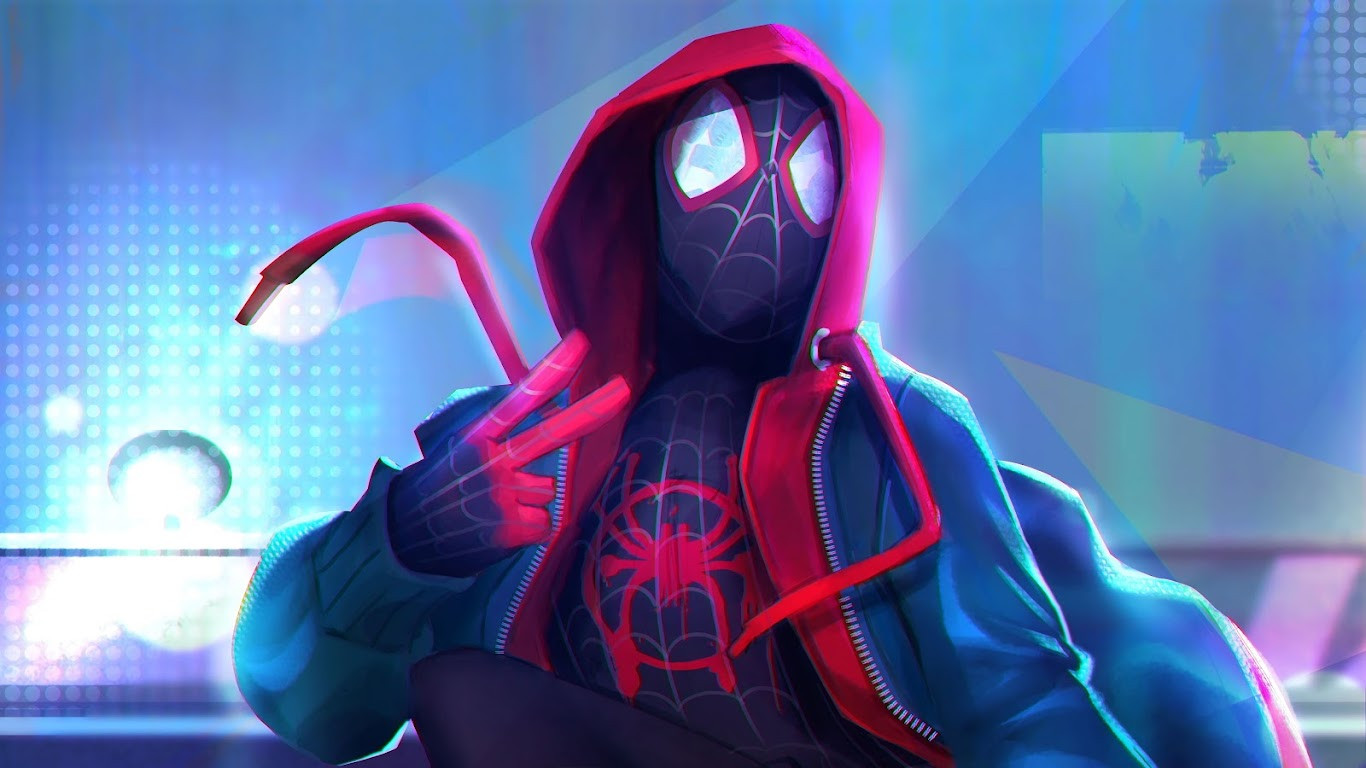 Miles Morales Spider Man Into The Spider Verse 4k 3840x2160 10