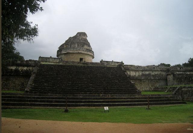 El Caracol, un observatorio de diseño circular en Chichén Itzá