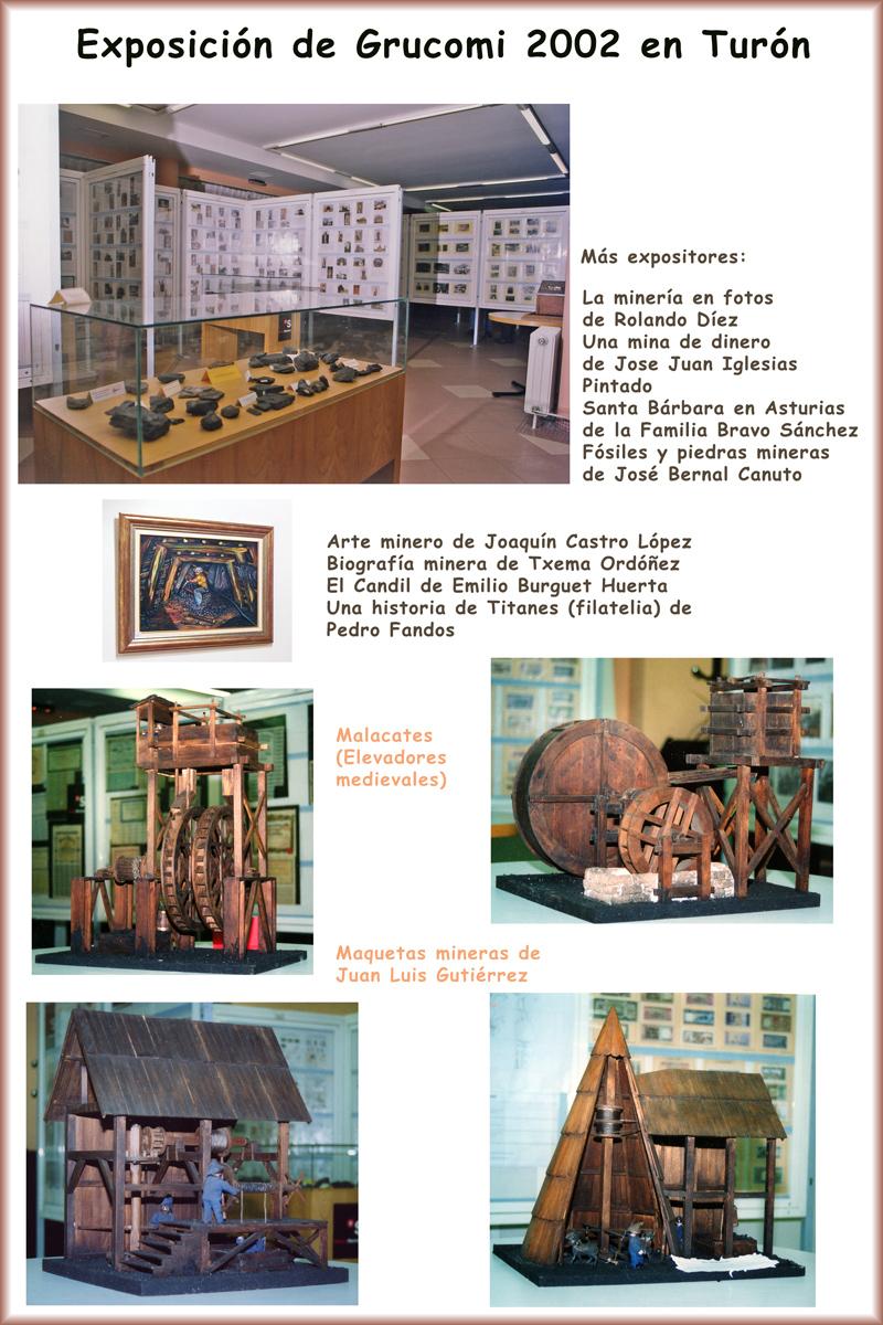 Exposición de Grucomi en Turón